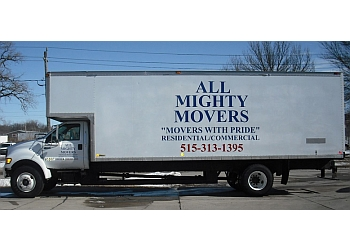Des Moines moving company All Mighty Movers
