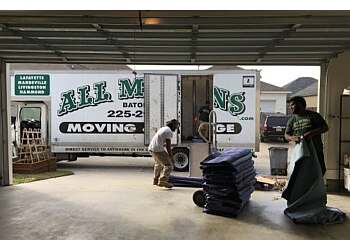 Baton Rouge moving company All My Sons Moving & Storage