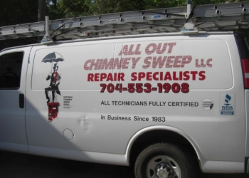 Charlotte chimney sweep All Out Chimney Sweep, LLC