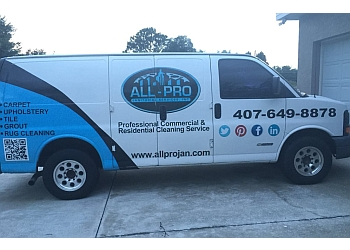 Orlando commercial cleaning service All Pro Janitorial Service, Inc