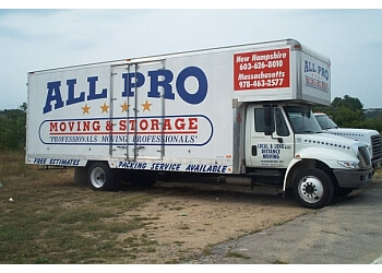 Manchester moving company All Pro Moving & Storage
