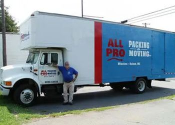 Winston Salem moving company All Pro Packing & Moving, LLC.