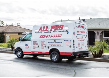 Ontario plumber All Pro Plumbing Heating & Air