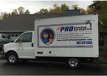 Portland plumber All Pro Plumbing Services LLC