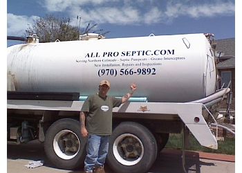 Fort Collins septic tank service All Pro Septic Pumping
