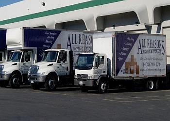San Jose moving company All Reasons Moving & Storage