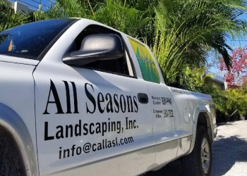 St Petersburg landscaping company All Seasons Landscaping & Nursery