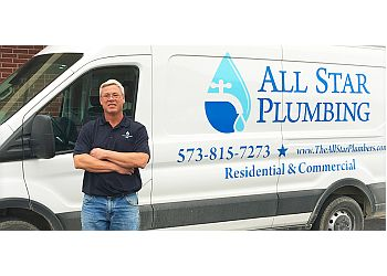 Columbia plumber All Star Plumbing