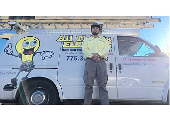 Reno electrician All Things Electric, Inc.