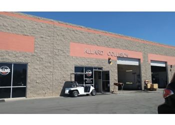 Chandler auto body shop Allard Collision
