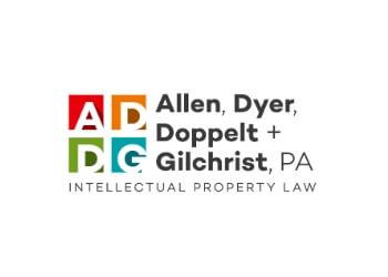 Orlando patent attorney Allen, Dyer, Doppelt, & Gilchrist, P.A.