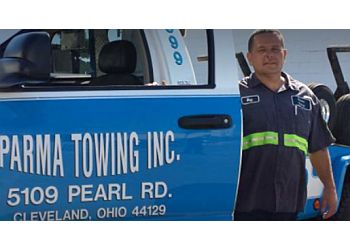 Cleveland towing company Allen's Parma Towing