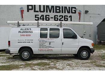 St Petersburg plumber Allen's Plumbing Inc.