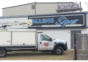 Wichita sign company Allen's Signs & Lighting Services
