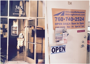 Escondido driving school Alliance Defensive Driving School