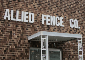 Greensboro fencing contractor Allied Fence Co.