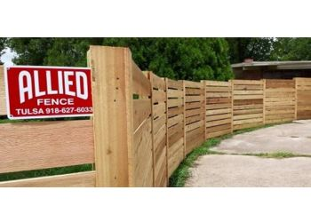 Tulsa fencing contractor Allied Fence Co