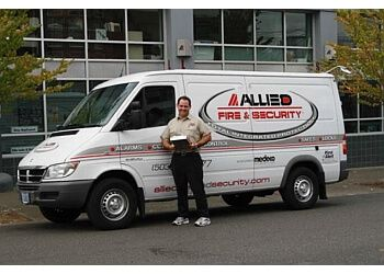 Spokane security system Allied Fire & Security