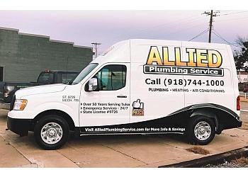 Tulsa plumber Allied Plumbing service