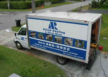 Fort Lauderdale roofing contractor Allied Roofing and Sheet Metal, Inc.