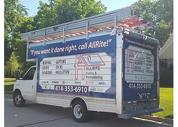 Milwaukee roofing contractor Allrite Home and Remodeling, Inc.