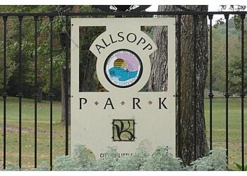 Little Rock hiking trail Allsopp Park Trail
