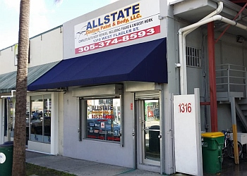 Miami auto body shop Allstate Custom Paint and Body