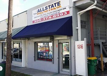 Miami auto body shop Allstate custom paint and body