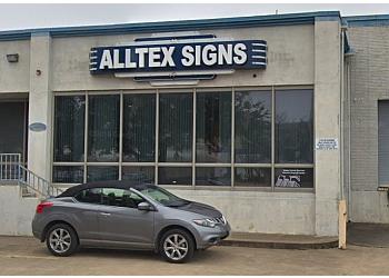 Garland sign company Alltex Signs