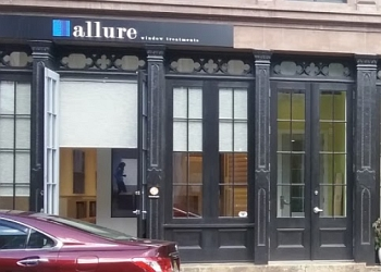 Philadelphia window treatment store Allure Window Treatments