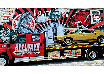 Oklahoma City towing company Allways Towing