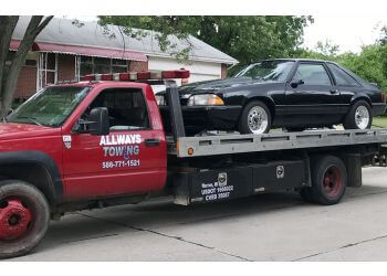 Warren towing company Allways Towing