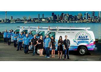 Seattle plumber Ally Plumbing, Inc.
