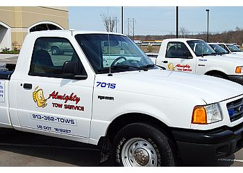 Overland Park towing company ALMIGHTY TOW SERVICE