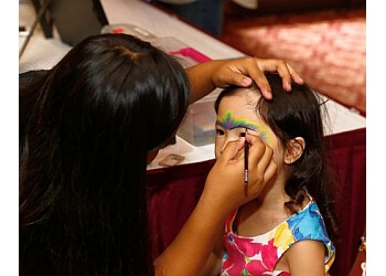 Honolulu face painting Aloha Glitter Tattoos