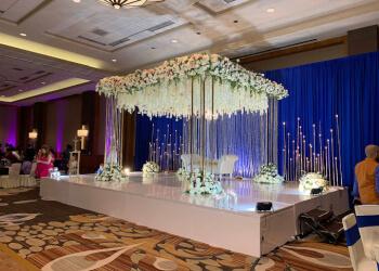 Garland wedding planner Alpha Events and Decor