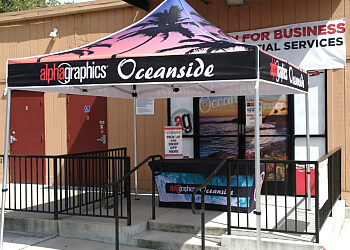 Oceanside printing service AlphaGraphics