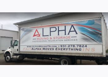 Clarksville moving company Alpha Moving & Storage LLC