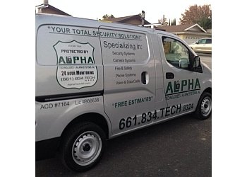 Bakersfield security system Alpha Technologies & Alarm Systems, Inc.