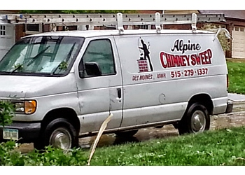 Des Moines chimney sweep Alpine Chimney Sweep