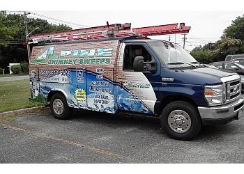 Des Moines chimney sweep Alpine Chimney Sweep Inc.