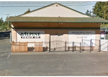 Seattle fencing contractor Alpine Fence Co.