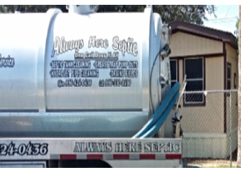 Brownsville septic tank service Always Here Septic