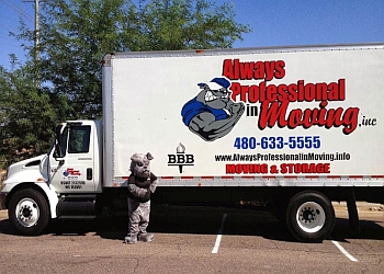Gilbert moving company Always Professional In Moving, Inc.
