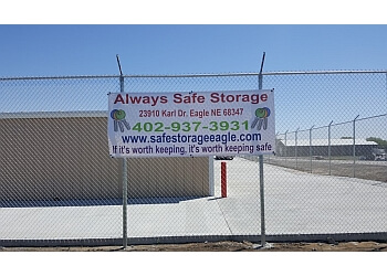 Lincoln storage unit Always Safe Storage