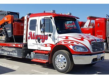Salinas towing company Always Towing & Recovery Inc.