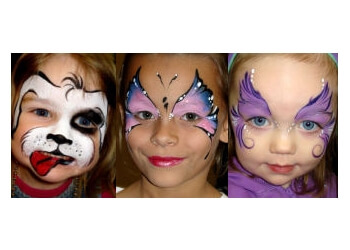 Amarillo face painting AmaDazzle Arts