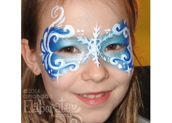 Cleveland face painting Elaborate Eyes Face & Body Painting