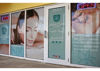 Miami massage therapy Amazian Massage