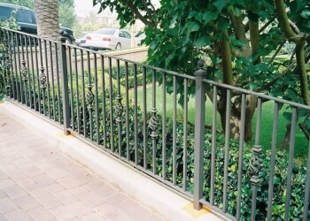 Irvine fencing contractor Amber Ornamental Iron